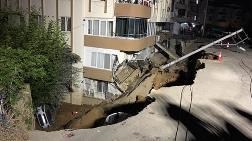 İzmir'de İstinat Duvarı Çöktü