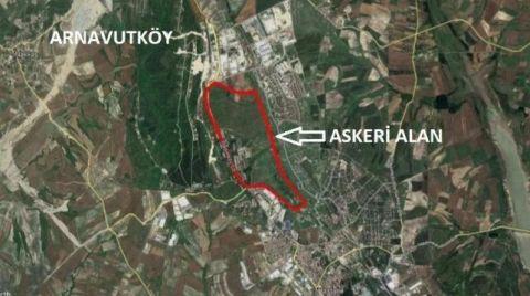 İstanbul'da Askeri Alan İmara Açıldı