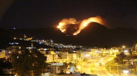Tatil Cennetinde Yangın