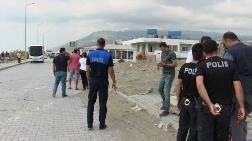 Samandağ'da Kıyı Kenar Çizgisi Yıkımları Devam Ediyor