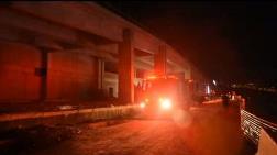 Şehir Hastanesi İnşaatında Yangın