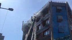 Kağıthane'de 5 Katlı Binada Yangın