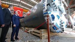 Yerli Tünel Açma Makinesi Üretim Bandından İndirildi
