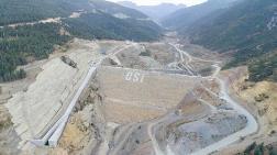 Çay Barajı'nın Yüzde 70'i Tamamlandı