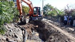 Bodrum'da İçme Suyu İsale Hattında Patlama