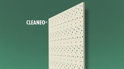 Knauf'tan Cleaneo® Akustik Alçıpan®
