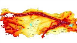 68 İl Deprem Fayları Üzerinde