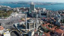 Taksim Camisi'nin İnce İşçiliğinin Yüzde 35'i Tamamlandı