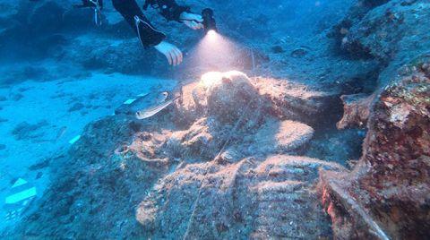 Antalya'da Ortalama 2 Bin Yıllık 27 Gemi Batığı Bulundu