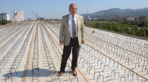 236 Metrelik Köprü Ordu'nun Trafiğini Rahatlatacak