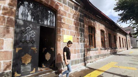 Tarihi Konak Restore Edilip Kütüphaneye Dönüştürüldü