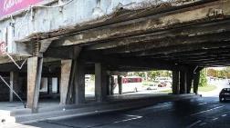 Unkapanı Köprüsü Alt Geçidinde Korkutan Görüntü