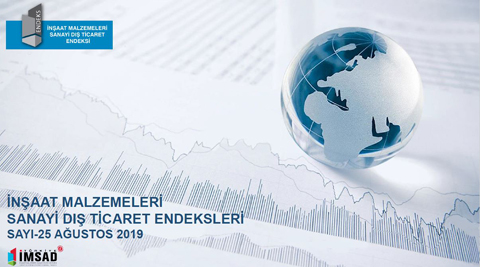 İMSAD Dış Ticaret Endeksi Ağustos 2019 Sonuçları Açıklandı