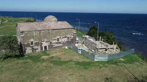 Yason Burnu'ndaki Papaz Evi Restore Ediliyor