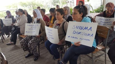 Muğla Hisarardı Köylüleri ÇED Toplantısını Yaptırmadı