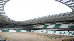 Çotanak Stadı'nın Koltukları Takılıyor
