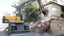 Ankara'da Metruk Yapılar Yıkılıyor