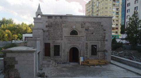 Kocasinan Belediyesi, Çandır Camii'ni Restore Etti