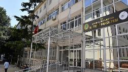 İletişim Fakültesi Binası Hasarlı