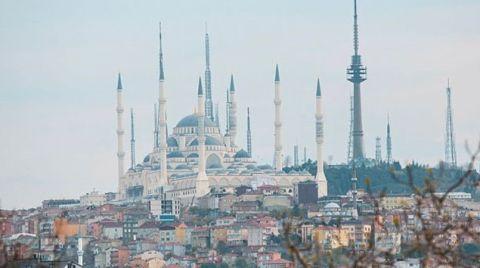 Çamlıca Camii Çevresinde Dönüşüm Sürüyor