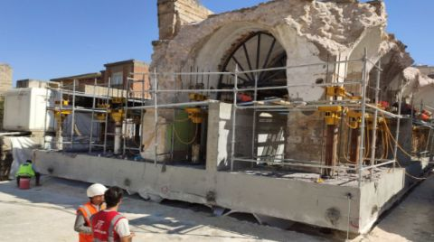 Hasankeyf'teki Son Eserin Taşınma Hazırlığı Tamamlandı