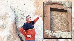 Urartu Çivi Yazıtına Çivi Çaktılar