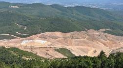 Kazdağları'ndaki Madene İkinci Kez Ruhsat Çıkmadı