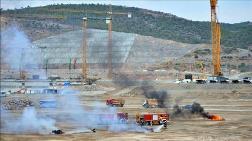 Akkuyu Nükleer Güç Santralinde Fırtına Tatbikatı