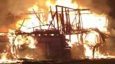 Kastamonu'da Tarihi Konak Yandı