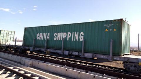 Çin'den Gelen İlk Yük Treni, Türkiye'de