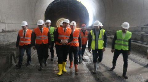 Karadeniz'i Akdeniz'e Bağlayacak Tünelde Son 500 Metre