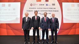 """TMB, """"Türkiye - Katar İnşaat Forumu"""" Düzenledi"""