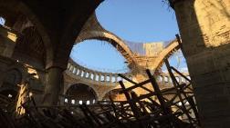 En Büyük İkinci Camiinin İnşaatında Çökme