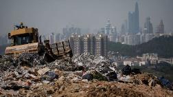 Çin'in En Geniş Çöplük Sahası Tamamen Doldu