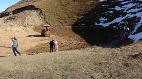 Dipsiz Göl'ün Eski Haline Dönmesi için Kar Bekleniyor