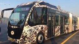 Ekrem İmamoğlu Yeni Metrobüsü Test Etti