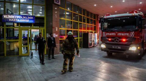 Bakırköy'de Hastane Yangını