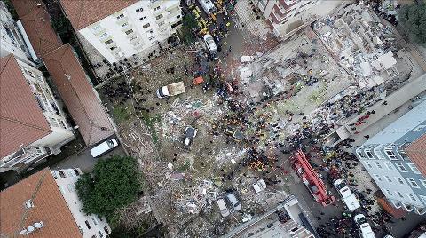 Kartal'da Çöken Binaya İlişkin 39 Görevliye Soruşturma