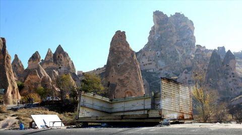 Kapadokya'daki Baraka Tarzı 41 İş Yeri Yıkıldı