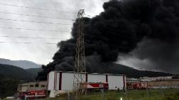 İzmir'de Atık Deposunda Yangın