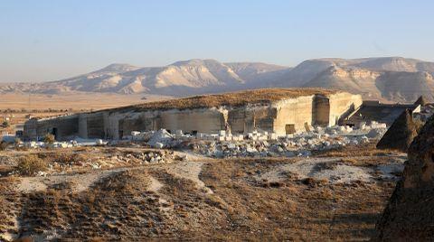 Kapadokya'daki Kayadan Oyma Müzede Sona Yaklaşıldı