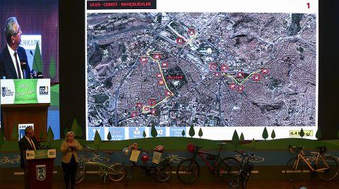 Başkente 53,7 Kilometrelik Bisiklet Yolu Geliyor
