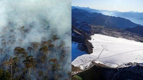 Amazon Yangınları, And Dağları Buzullarını Daha Hızlı Eritiyor
