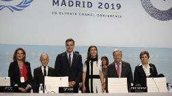 İklim Değişikliği Taraflar Konferansı İspanya'da Başladı