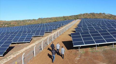 İnegöl'de Güneş Tarlası Kuran Girişimcinin Hedefi Afrika