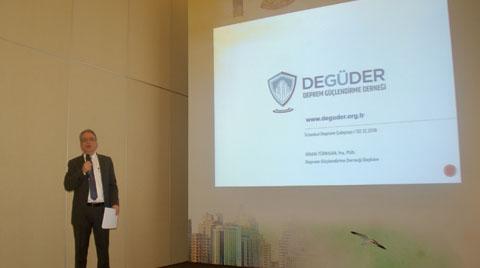 DEGÜDER Başkanı, İBB Deprem Çalıştayı'nda Konuştu