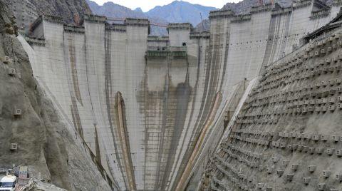 Yusufeli Barajı'nın Güncel Görüntüleri Paylaşıldı