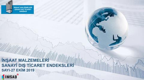 İMSAD Dış Ticaret Endeksi Ekim Sonuçları Açıklandı