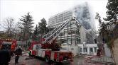 DSİ Genel Müdürlüğünde Çıkan Yangın Söndürüldü