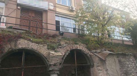 Beyazıt'ta 1600 Yıllık Sarnıca Metal Ayak Desteği